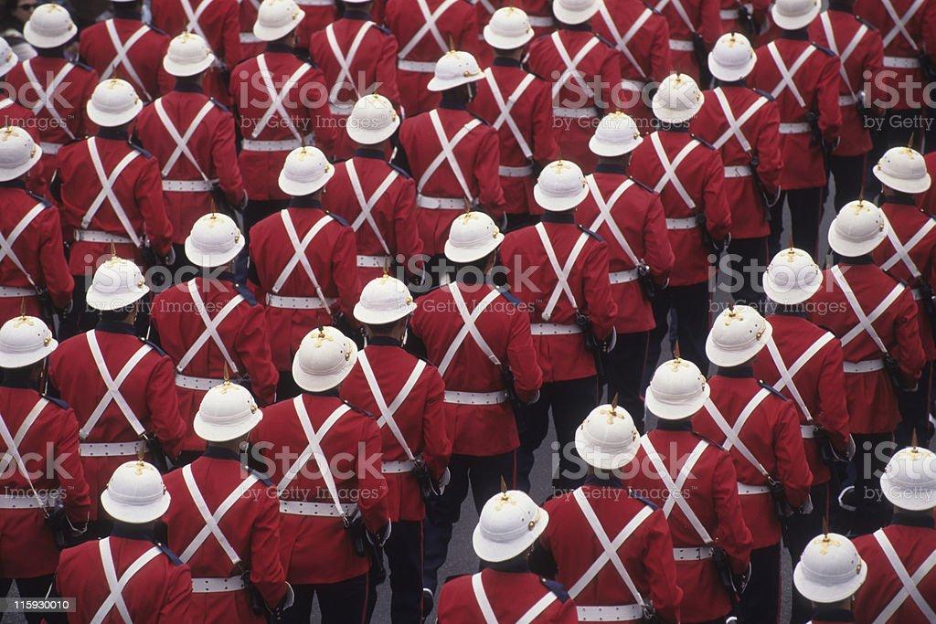 Military Parade royalty-free stock photo