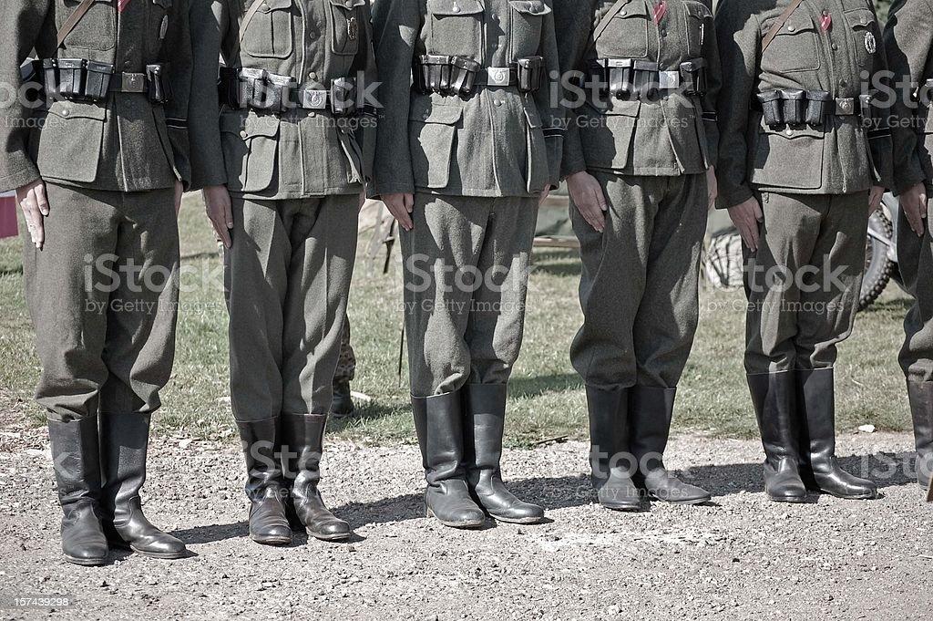 Military Parade. stock photo