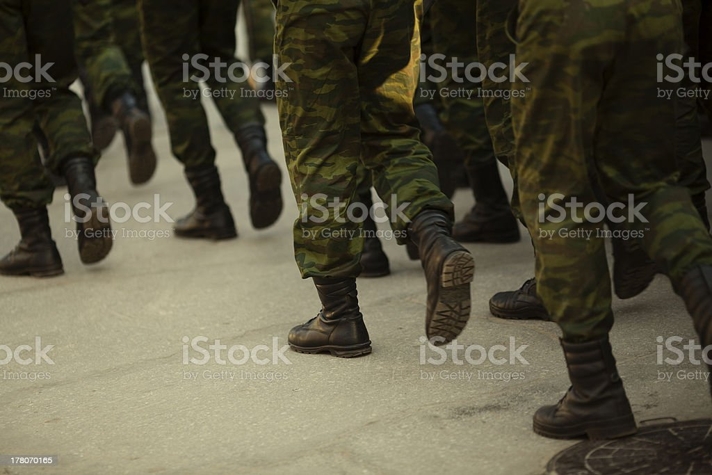 Military royalty-free stock photo
