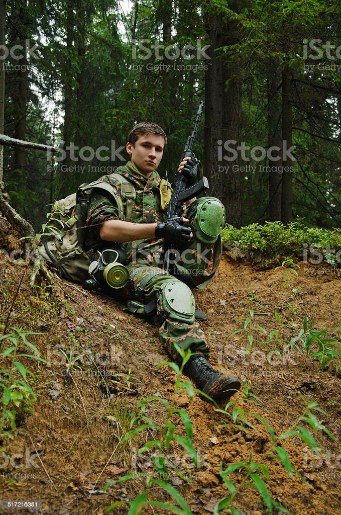 Militar foto de stock royalty-free