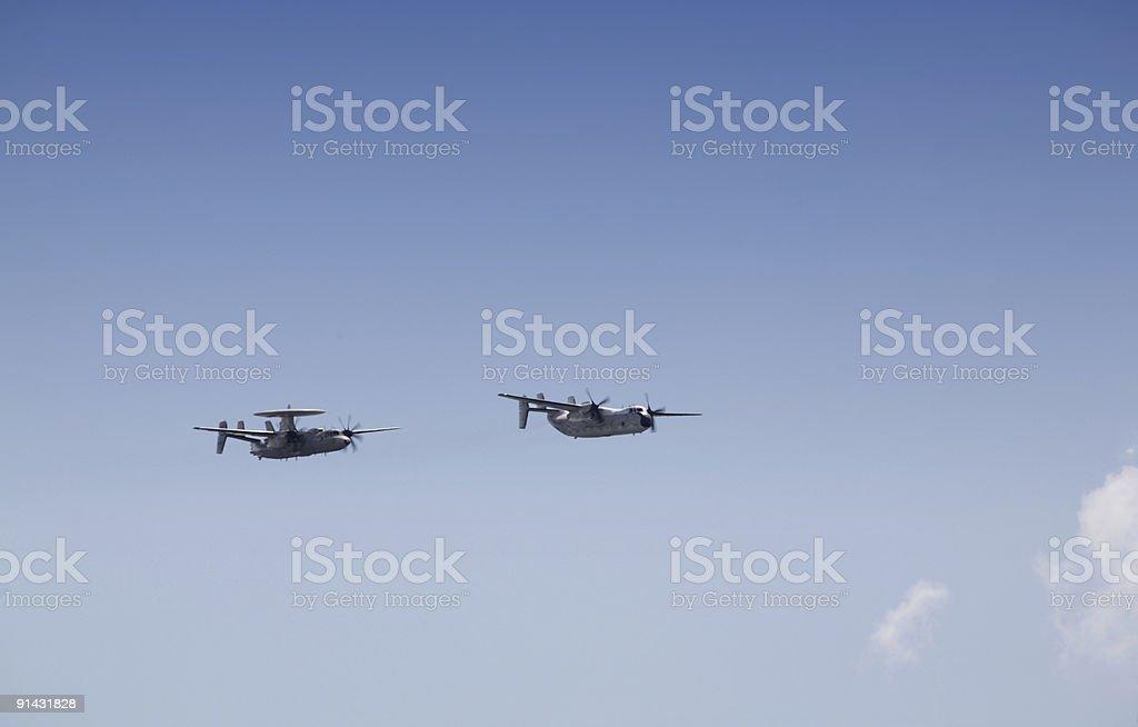 Military Planes stock photo