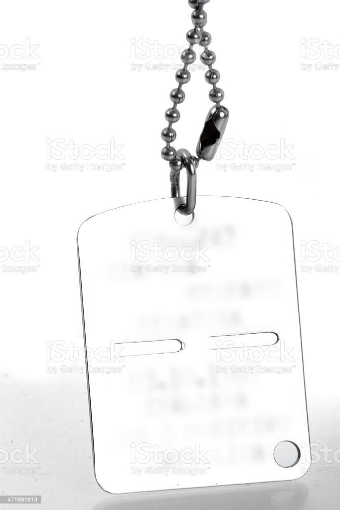 Military Plate royalty-free stock photo