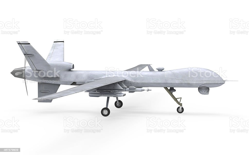 Military Predator Drone stock photo