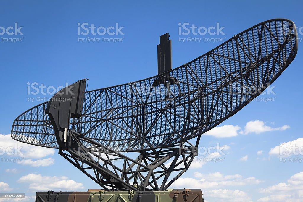 Military Radar Antenna royalty-free stock photo