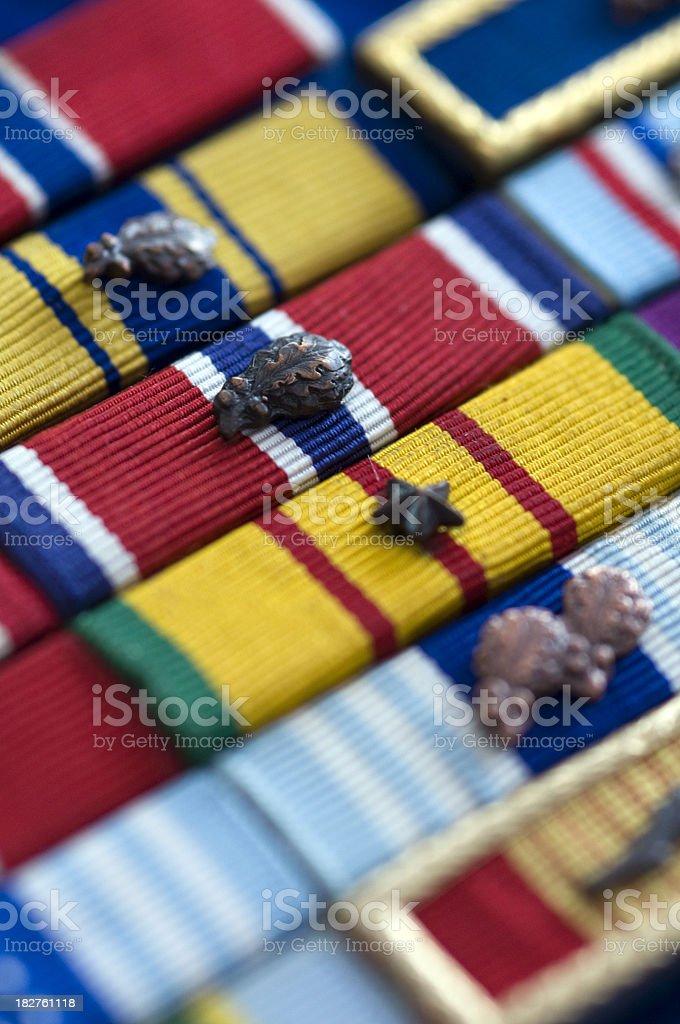 Military Ribbons stock photo