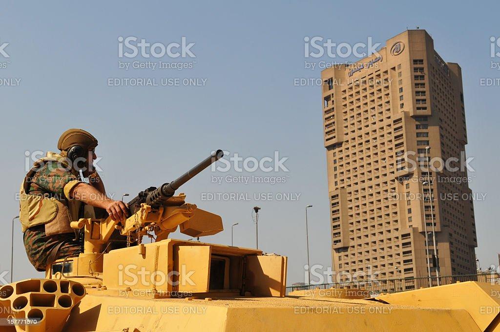Military rule stock photo