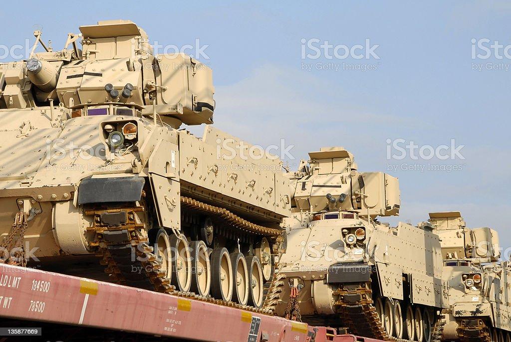 Military Shipment stock photo
