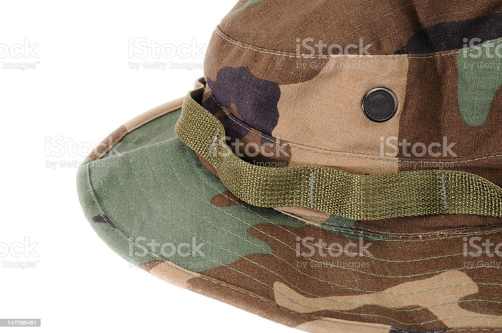 Estilo militar Boonie chapéu foto royalty-free