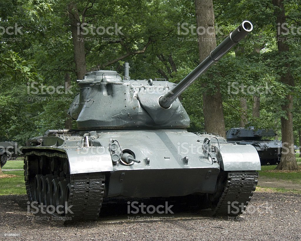 WWII Military Tank royalty-free stock photo