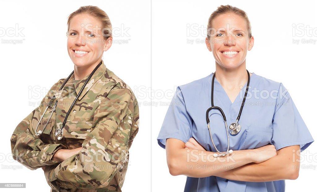 Military to Civilian Transition. stock photo