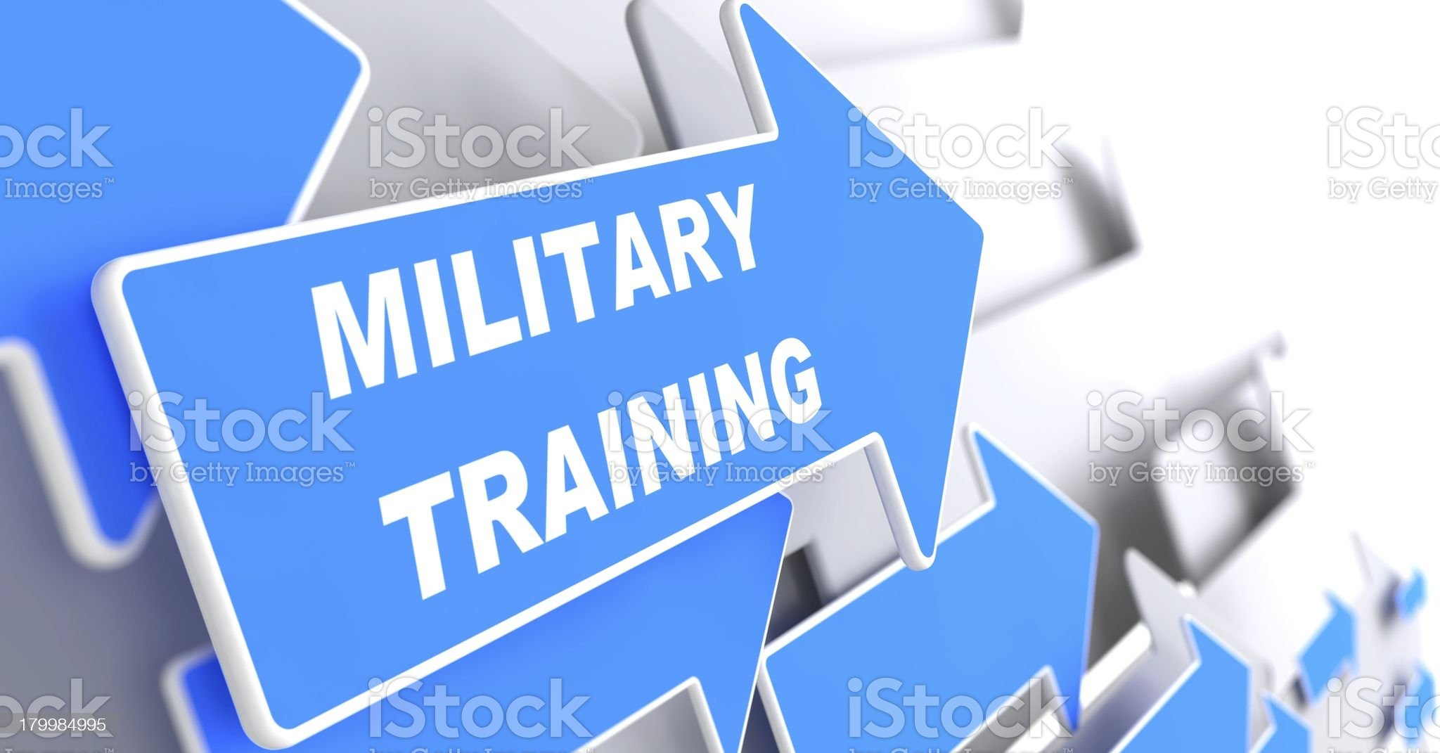 Military Training. Education Concept. royalty-free stock photo