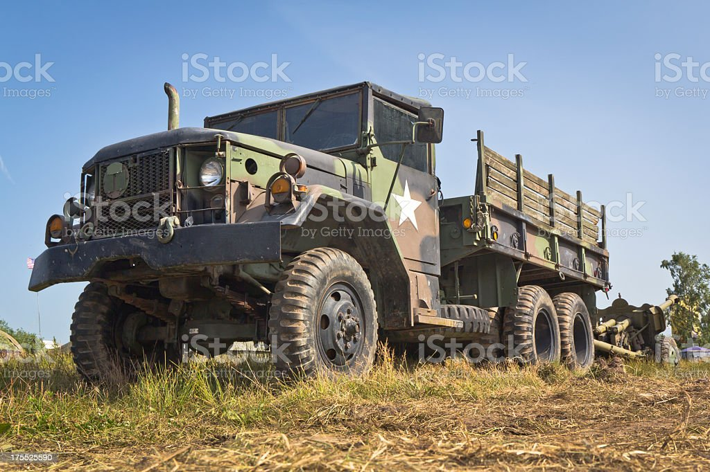 Military Truck M-923 A1 stock photo
