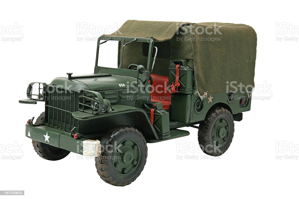 Military truck royalty-free stock photo
