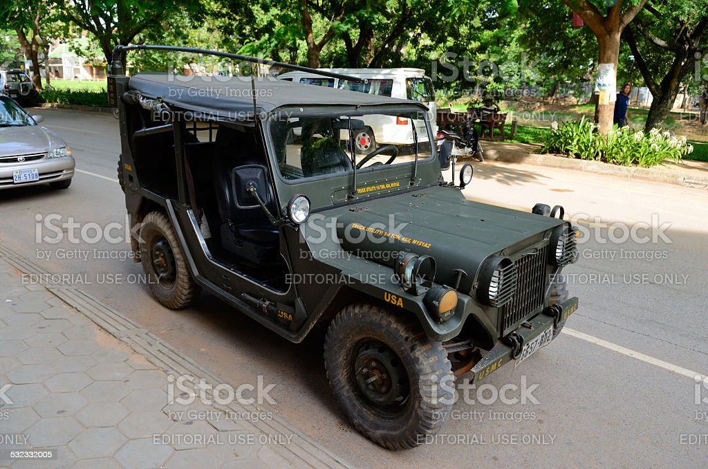 M151A2 Military Utility Tactical Truck stock photo
