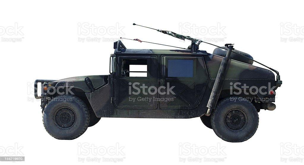 US Military Vehicle Hummer H1 stock photo