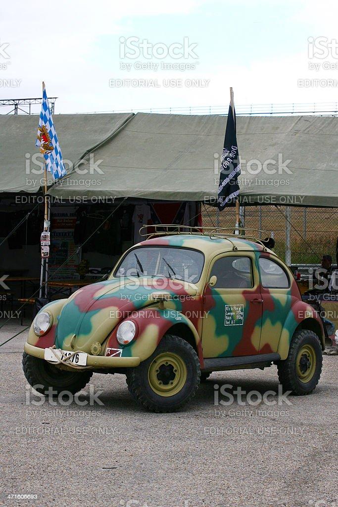 Military Volkswagen stock photo