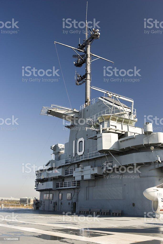 USA military warship royalty-free stock photo