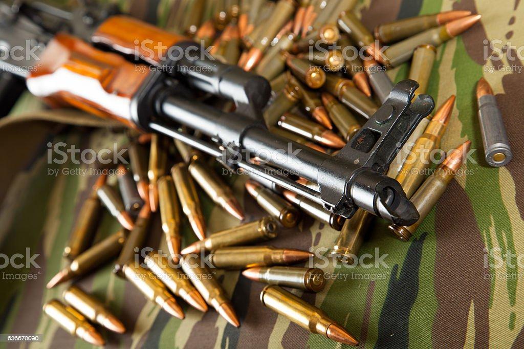 military weapon stock photo