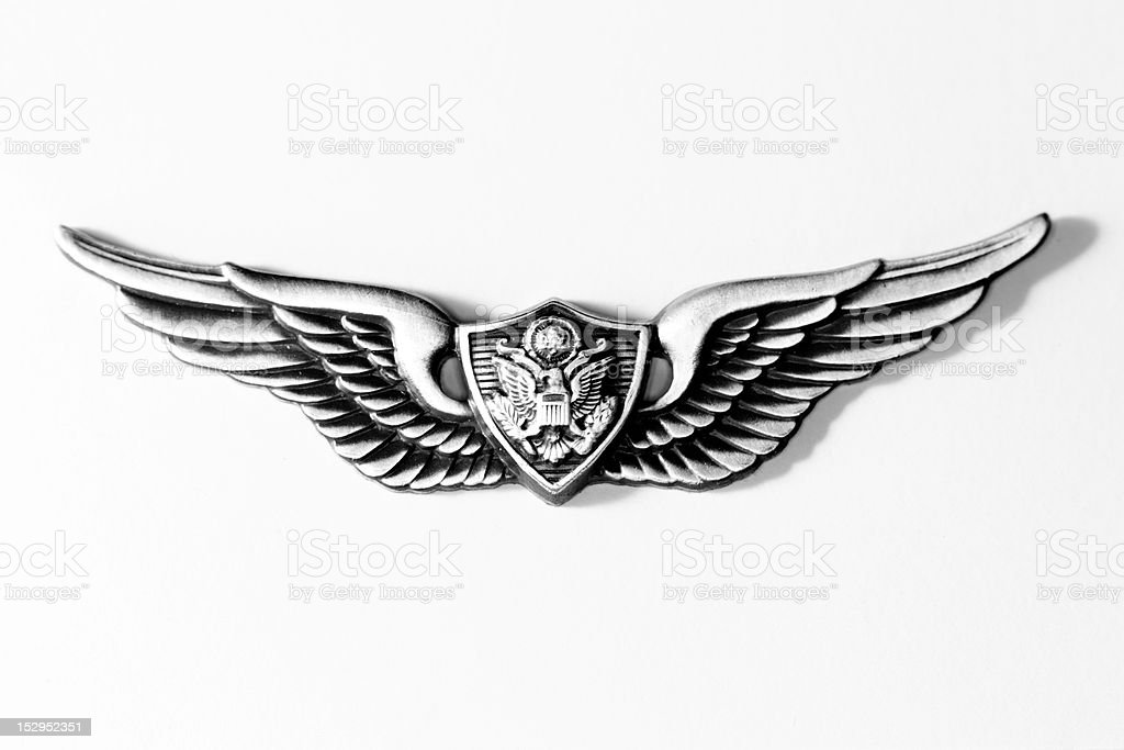 Military Wings stock photo