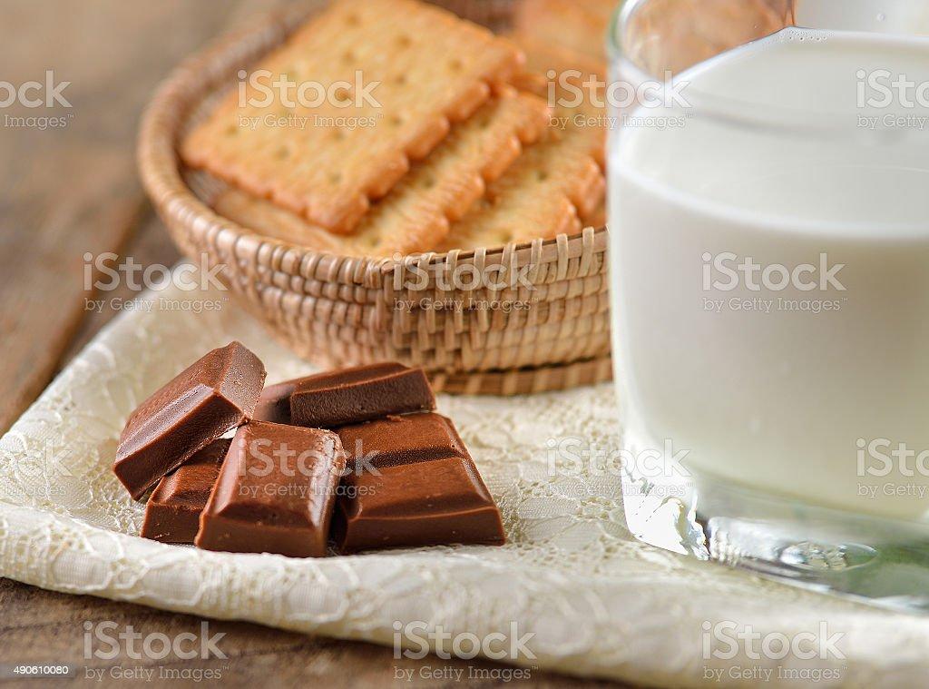 Mleka i czekolady bary zbiór zdjęć royalty-free