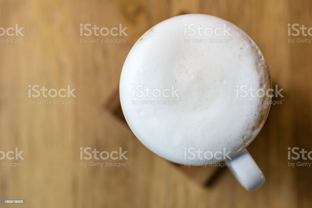 Latte Art stock photo