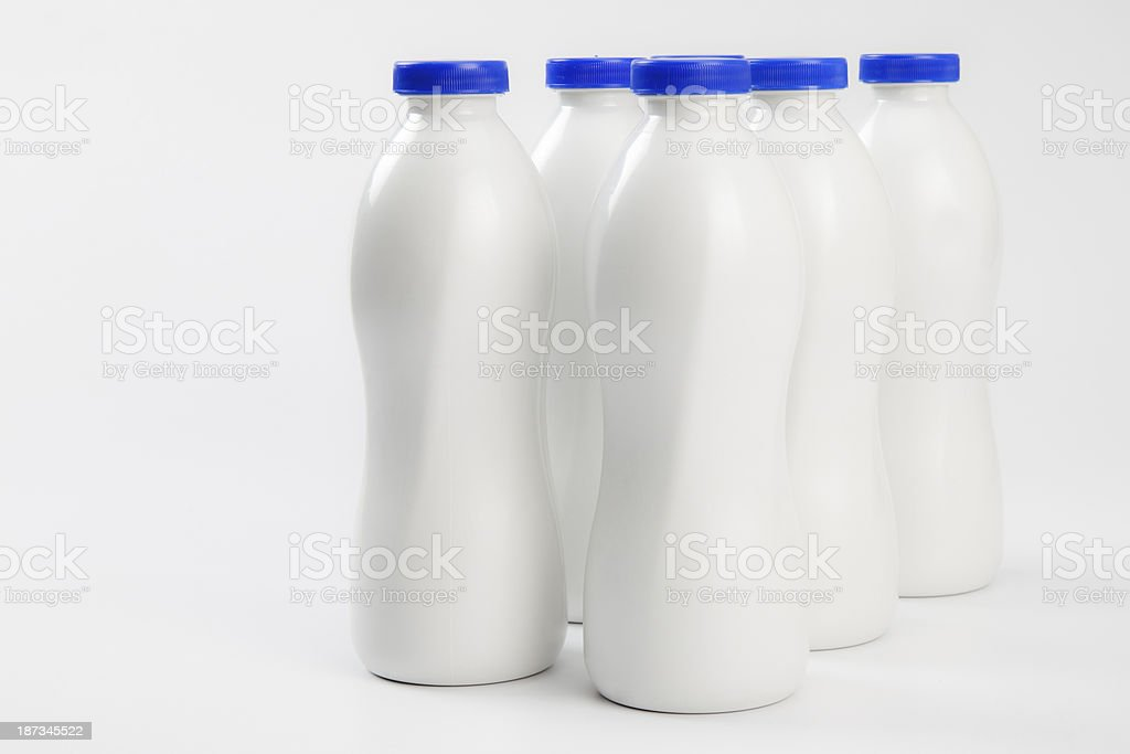 Milk Bottle royalty-free stock photo