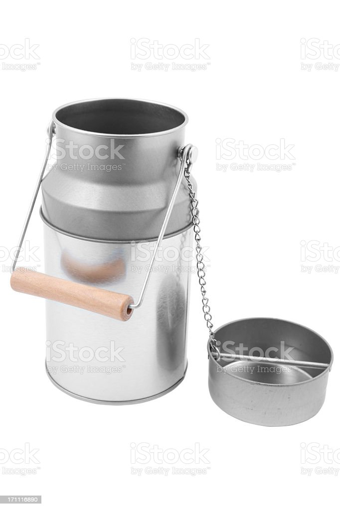 Milk Canister royalty-free stock photo