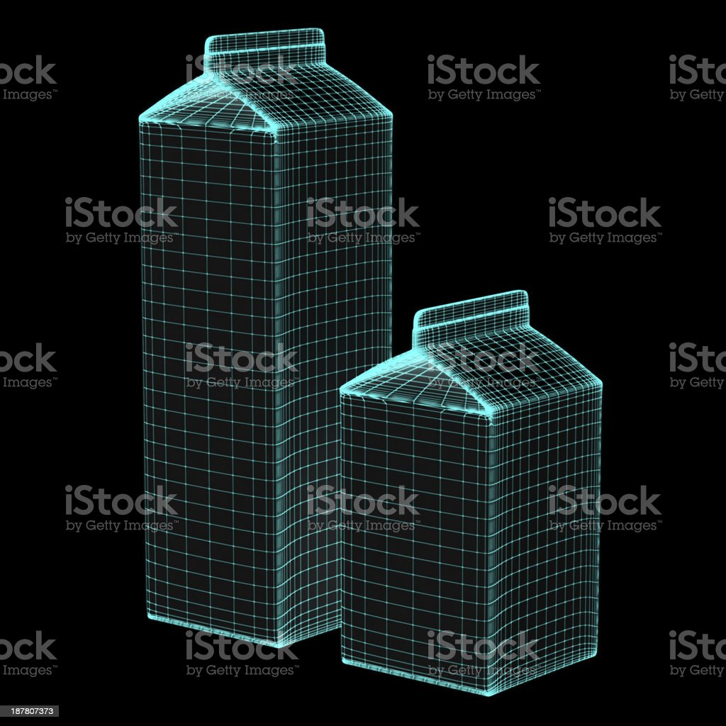 milk case royalty-free stock photo