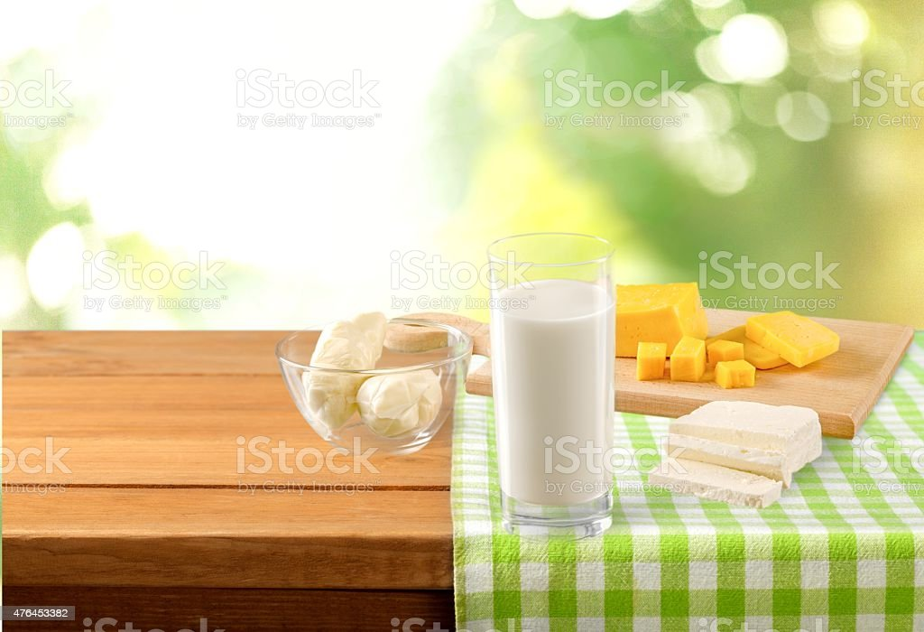 Milk, Cheese, Dairy Product stock photo