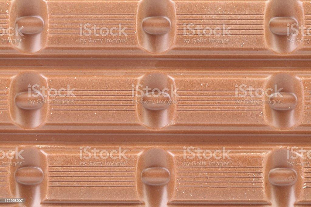 Milk chocolate bar as background royalty-free stock photo