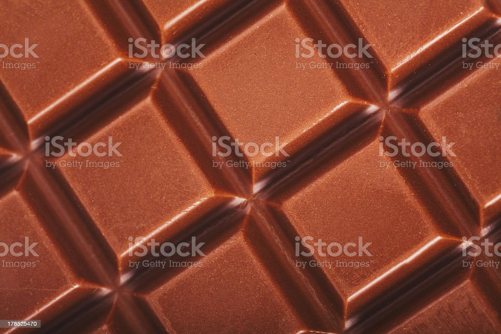 Milk chocolate bar royalty-free stock photo