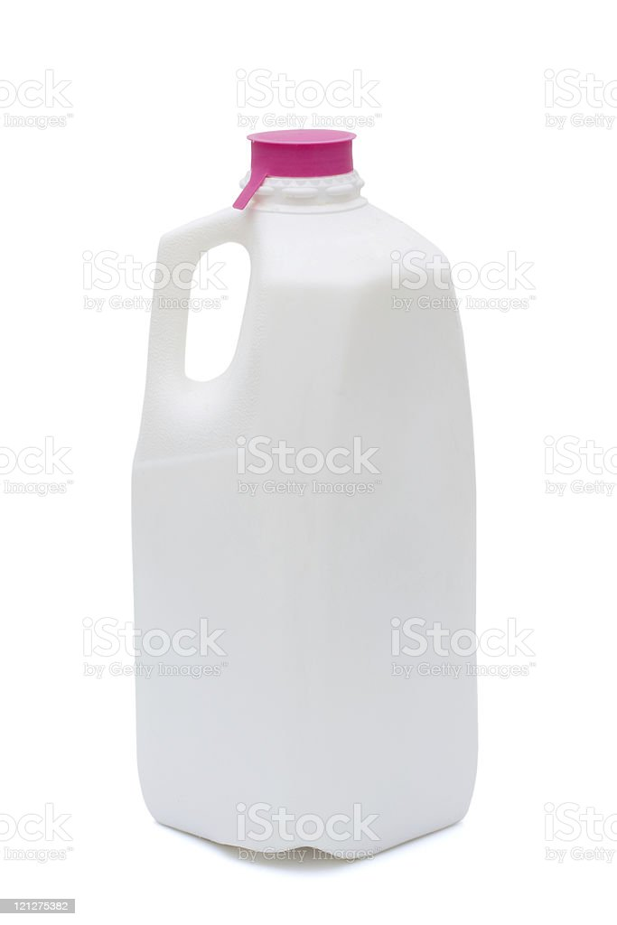 Milk container royalty-free stock photo