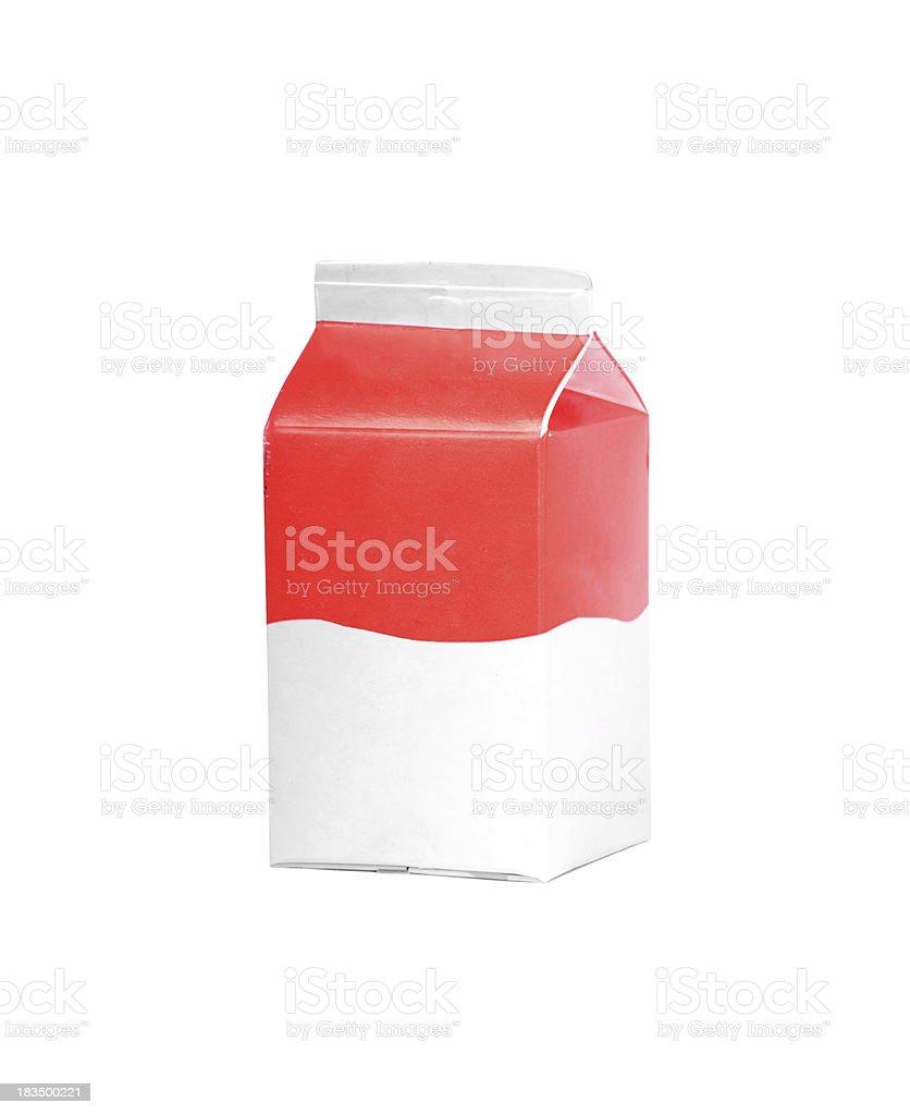 milk or juice carton box royalty-free stock photo