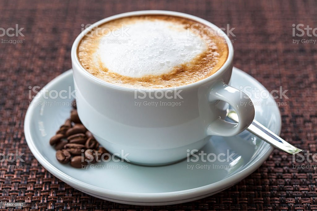 Latte stock photo