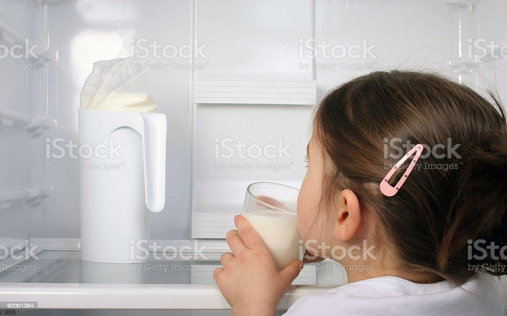 Milk please stock photo