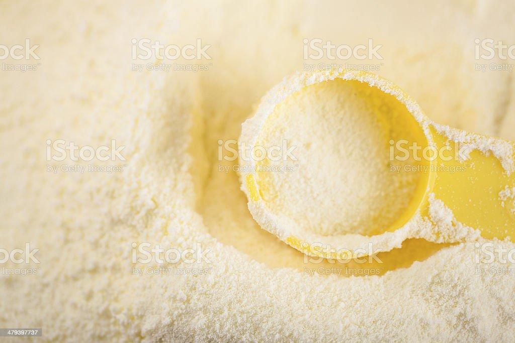 milk powder royalty-free stock photo