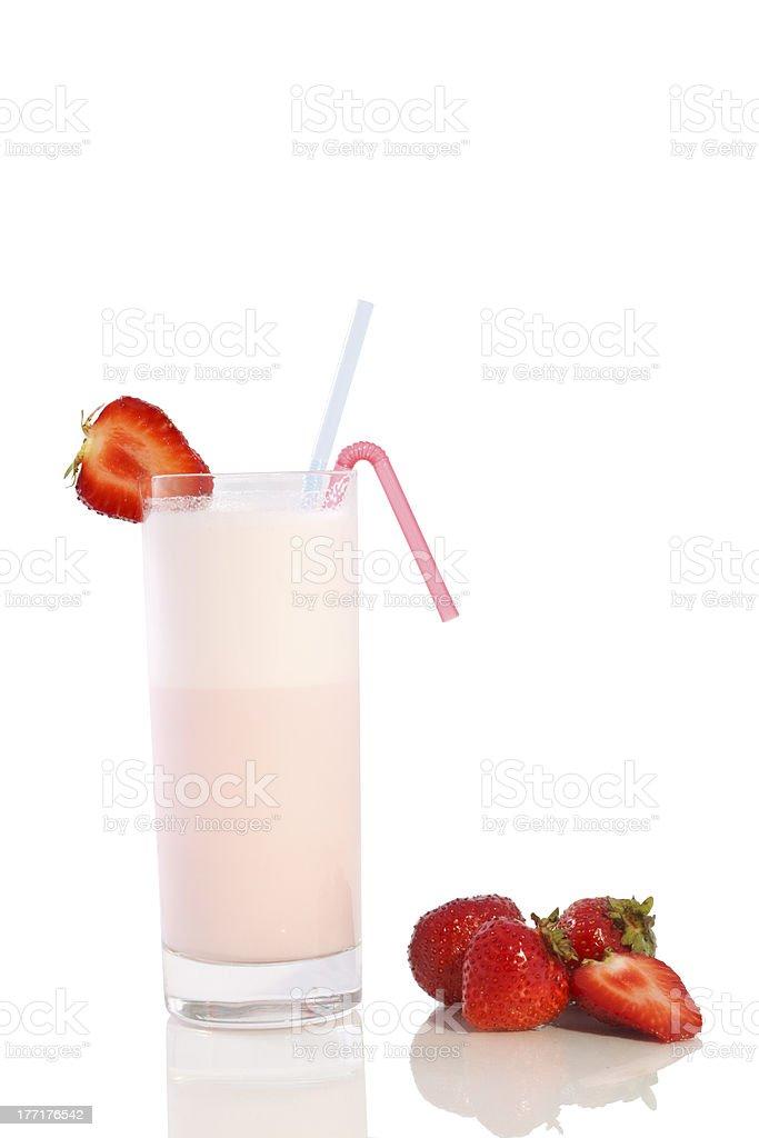 milk shake royalty-free stock photo