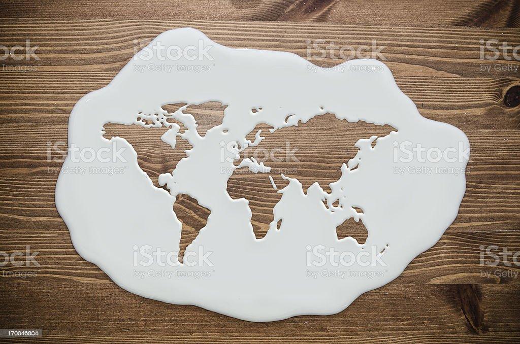 milk world stock photo