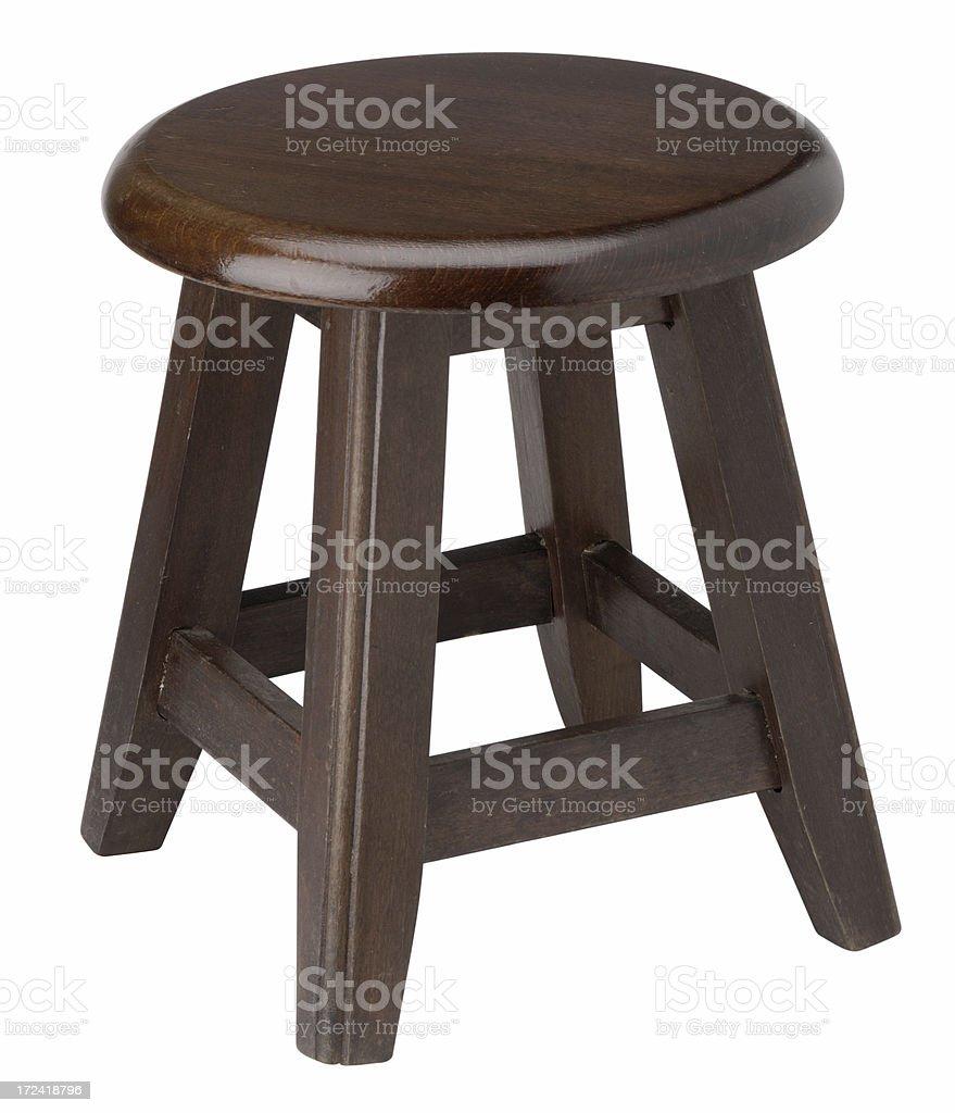 milking stool royalty-free stock photo