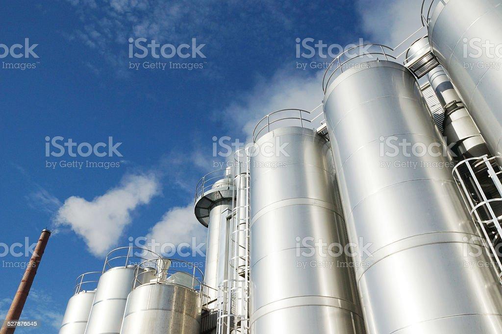 Milkmaking business stock photo
