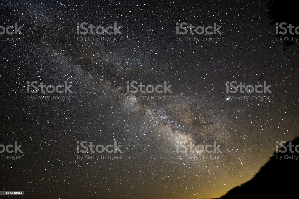 Milky Way 3 royalty-free stock photo