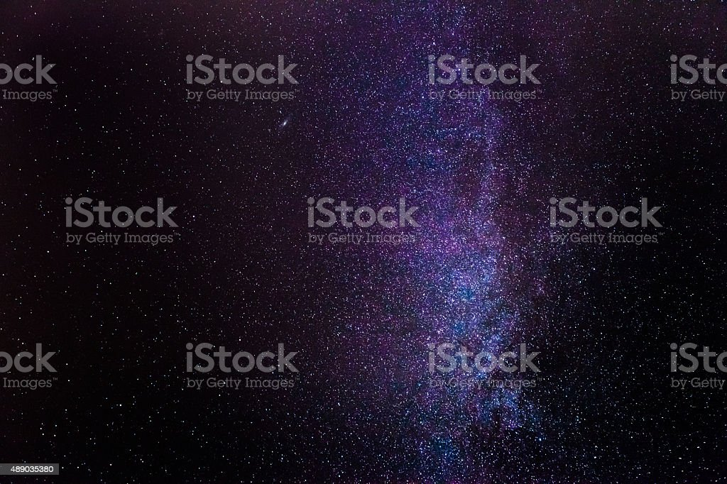 Milky Way Detail stock photo
