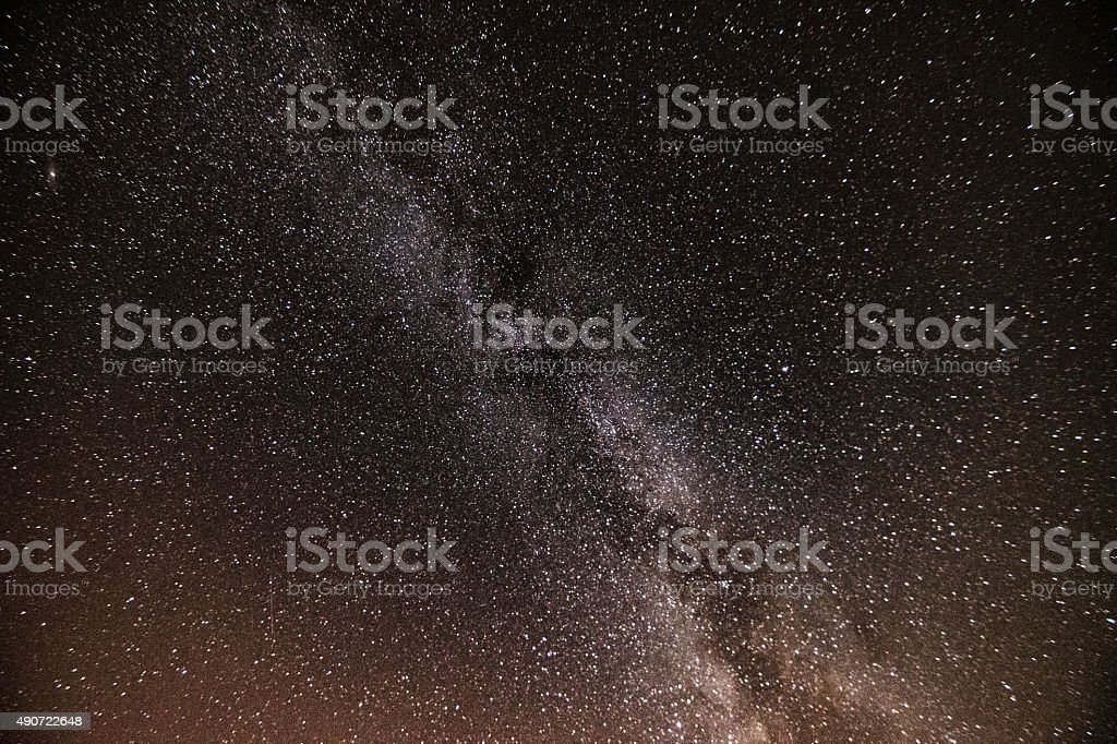 Milky way galaxy royalty-free stock photo