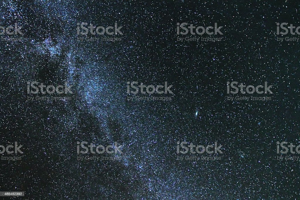 Milky way s stock photo