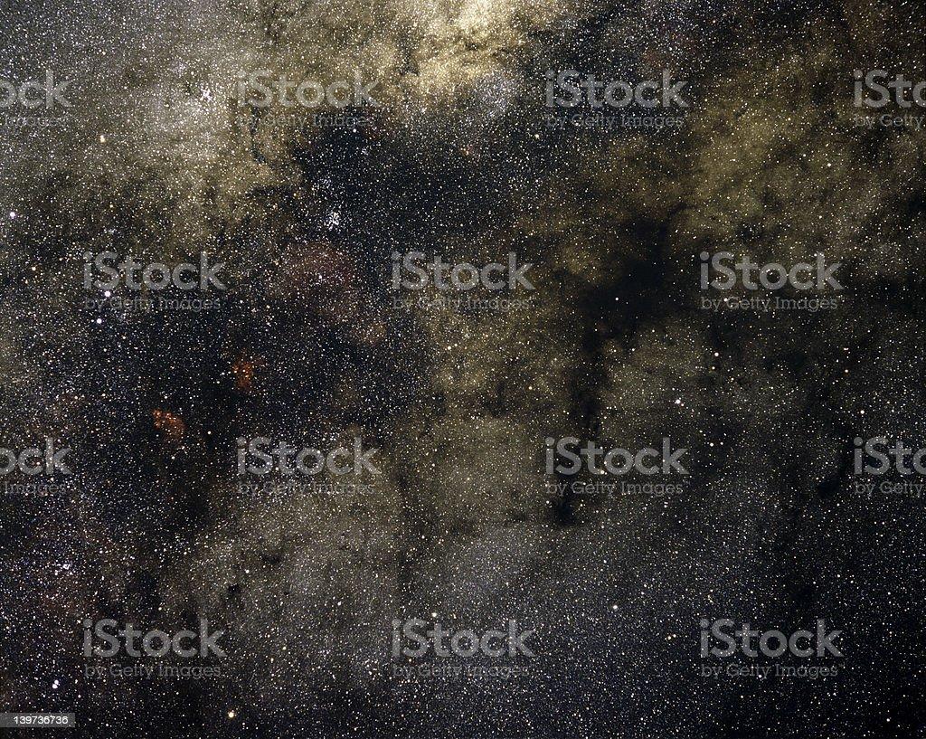 Milky Way Sagittarius & Scorpio stock photo