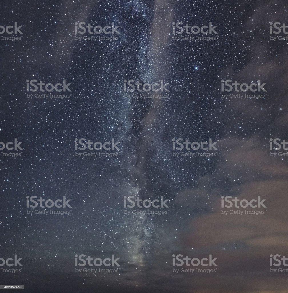 Milky Way Vista stock photo