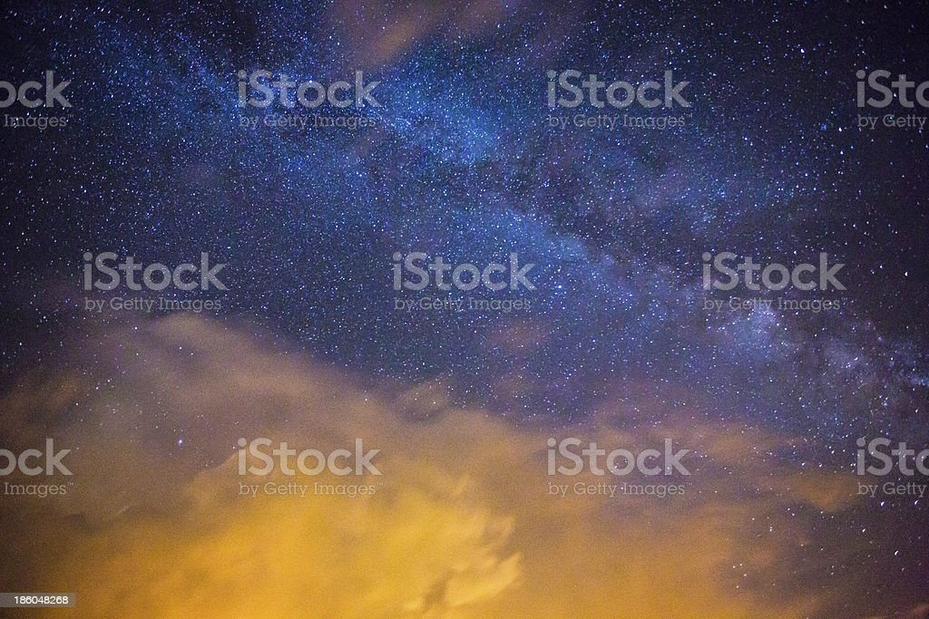 Milkyway Clouds stock photo