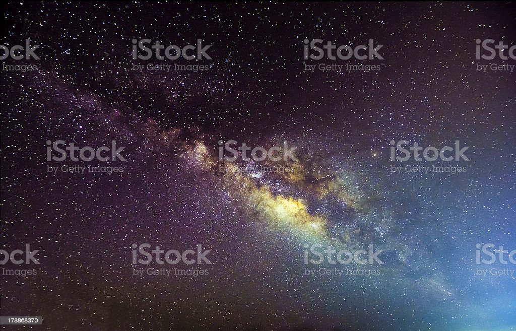 Milkyway Galaxy stock photo