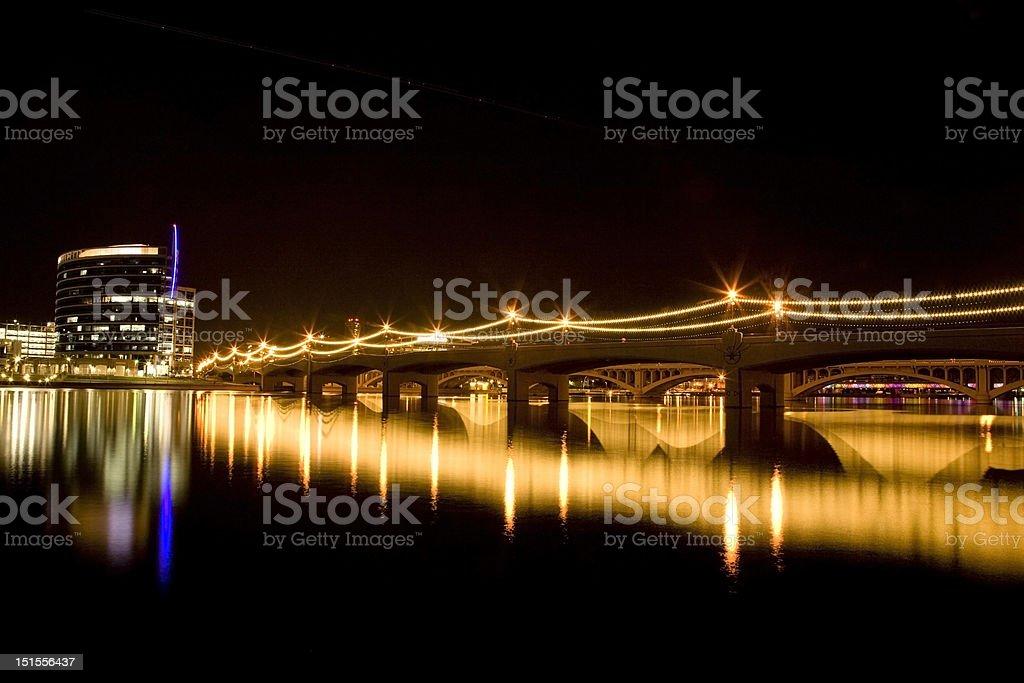 Mill Avenue Bridge stock photo