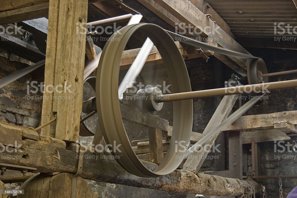Mill / Forge Workings royalty-free stock photo